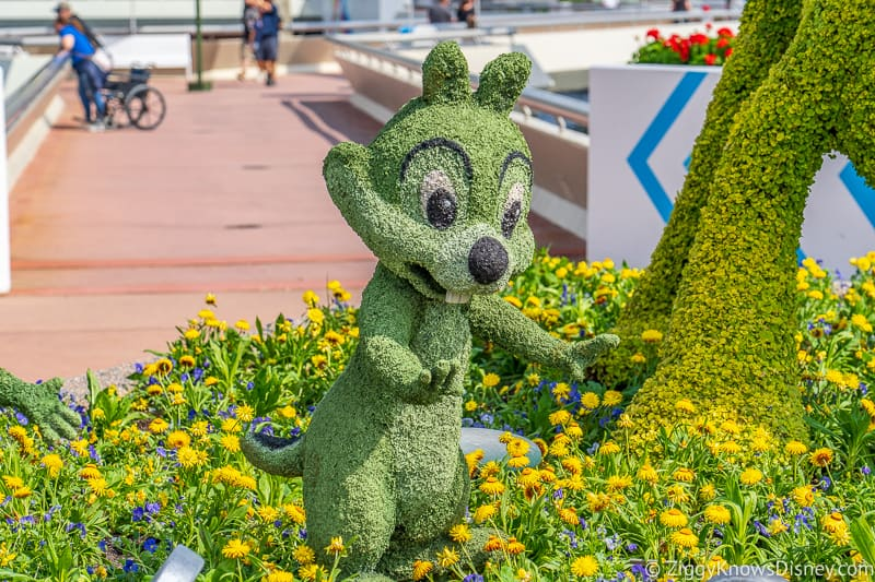 Chip Topiary Epcot Flower and Garden Festival