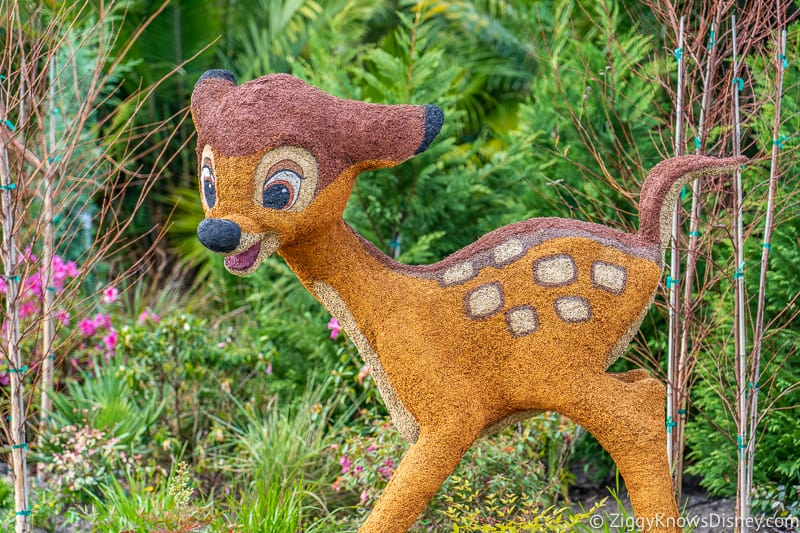 Bambi Topiary Epcot Flower and Garden Festival