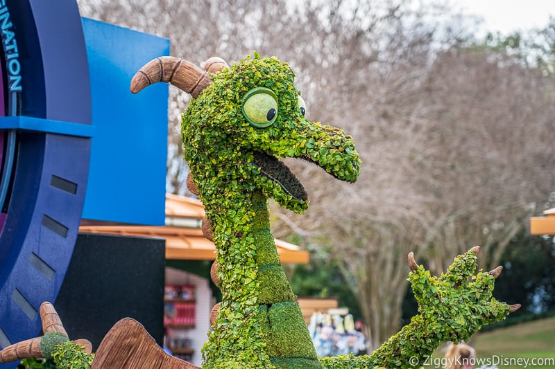 Figment Topiary Epcot Flower and Garden Festival