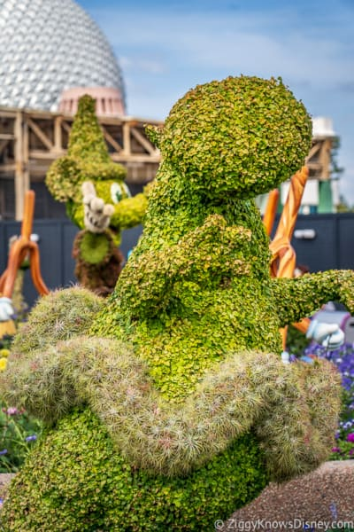 Hippo Topiary Epcot Flower and Garden Festival