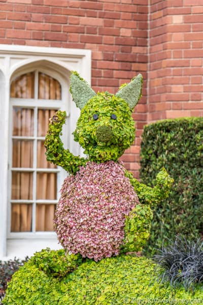 Piglet Topiary Epcot Flower and Garden Festival