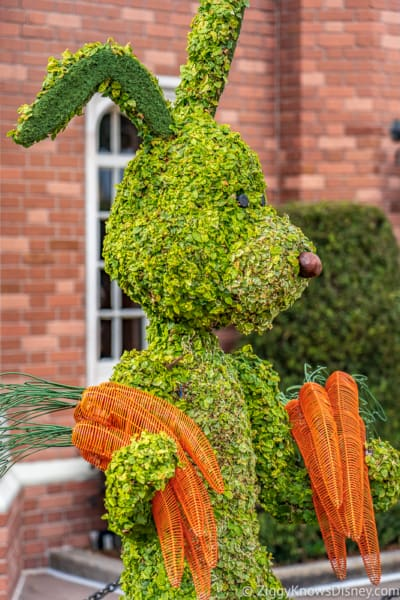 Rabbit Topiary Epcot Flower and Garden Festival
