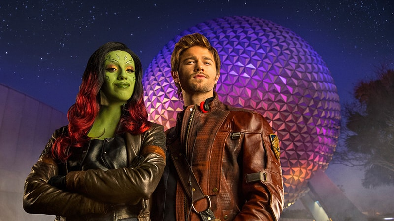Guardians of the Galaxy Star-Lord and Gamora
