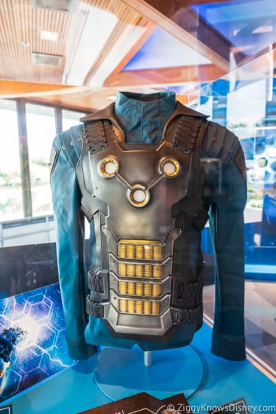 suit from Guardians of the Galaxy: Cosmic Rewind Roller Coaster