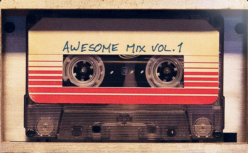 Guardians of the Galaxy awesome mix tape
