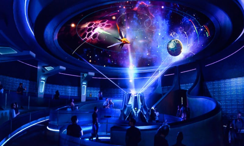 Galaxarium in Guardians of the Galaxy: Cosmic Rewind