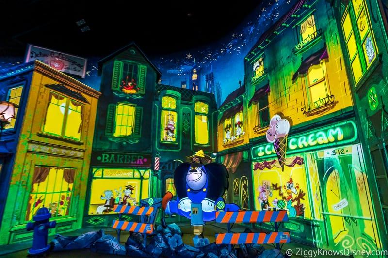 Big City Snarl Mickey and Minnie's Runaway Railway