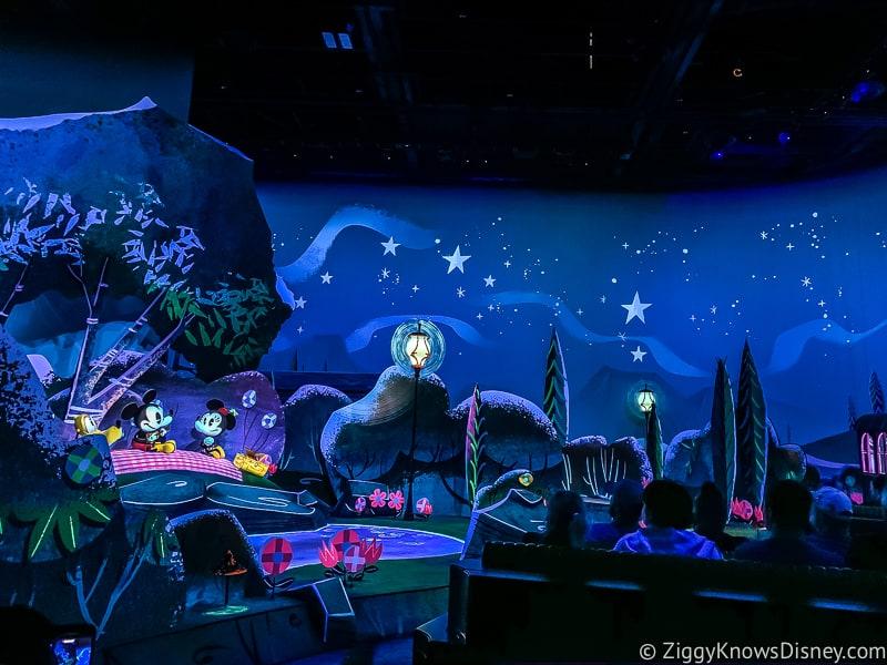 Mickey and Minnie's Runaway Railway picnic