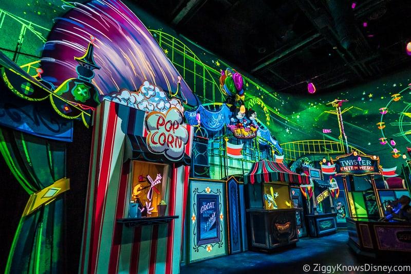 Mickey and Minnie's Runaway Railway tornado