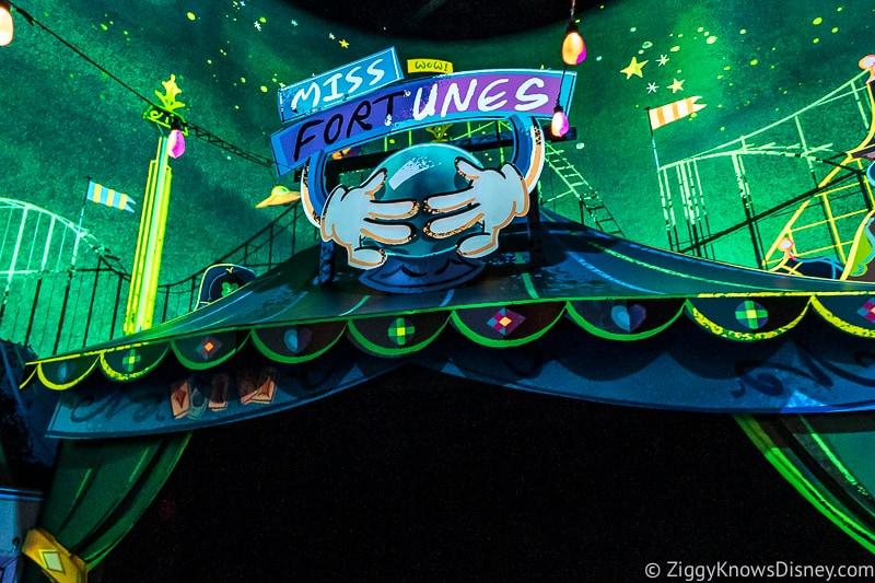 Miss Fortunes Mickey and Minnie's Runaway Railway