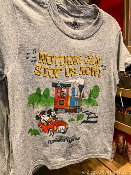 Mickey and Minnie's Runaway Railway Merchandise T-Shirts