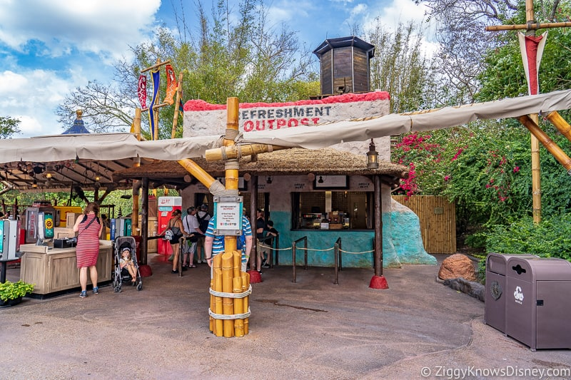 Refreshment Outpost Epcot Flower and Garden