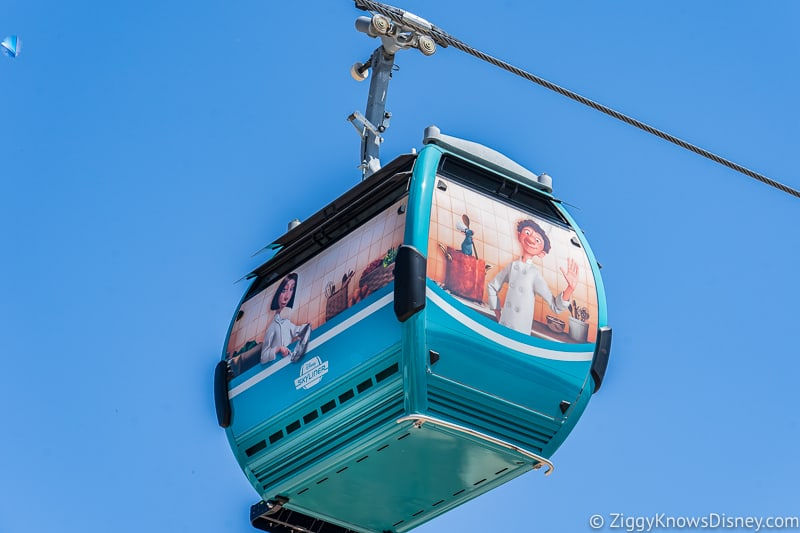 Remy's Ratatouille Adventure Disney Skyliner gondola Epcot