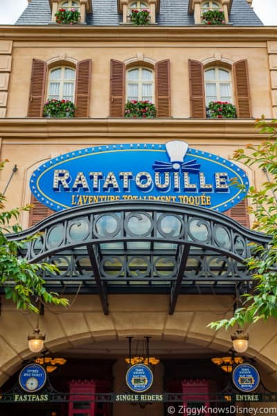 Remy's Ratatouille Adventure entrance