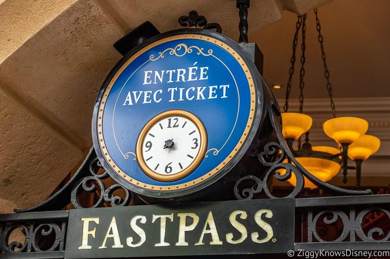 Remy's Ratatouille Adventure FastPass Epcot