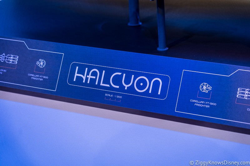 Halcyon name for Galactic Starcruiser
