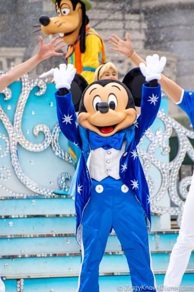 Mickey Mouse Disney World 50th anniversary 2021 and 2022