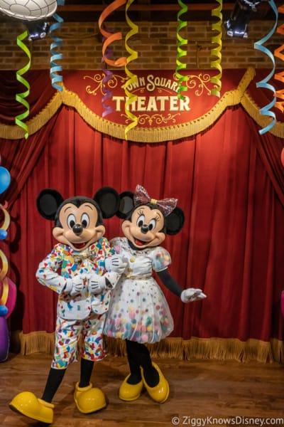 Mickey Mouse and Minnie Mouse anniversary Disney World 2021 or 2022