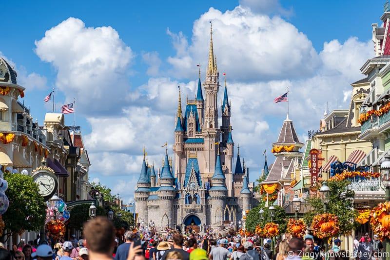 Magic Kingdom and Cinderella Castle for Disney World 50th Anniversary