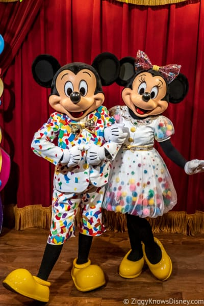 Mickey and Minnie Mouse Disney World 50th Anniversary