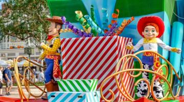 Disney World 50th Anniversary party in Magic Kingdom