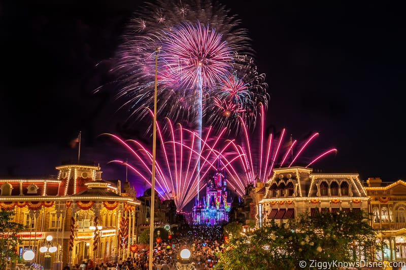 Walt Disney World 50th Anniversary fireworks