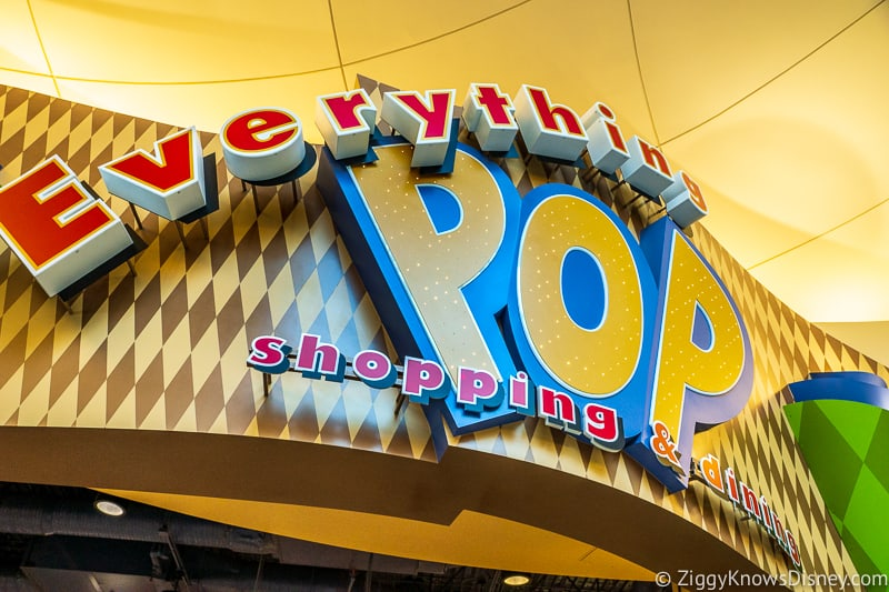 Everything Pop food court Mobile Ordering