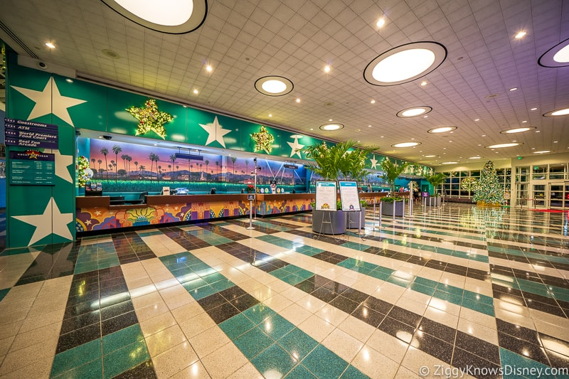 Check-In All-Star Movies Resort lobby