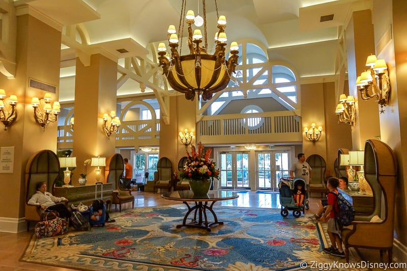Disney World Check-In Beach Club Resort