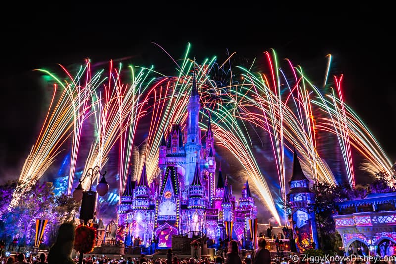 Happily Ever After Fireworks Magic Kingdom Disney World changes