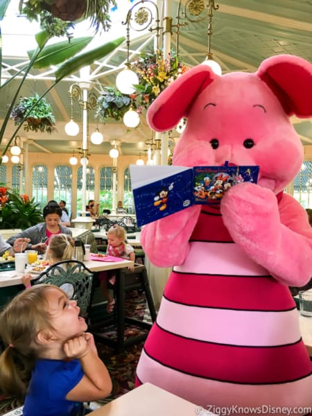 Disney World character meals guidelines