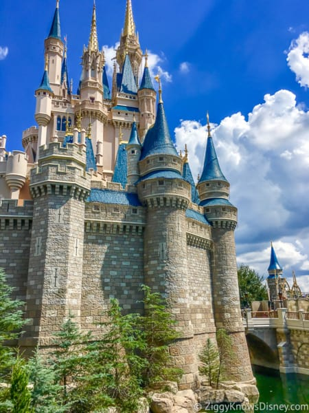 Cinderella Castle after new changes