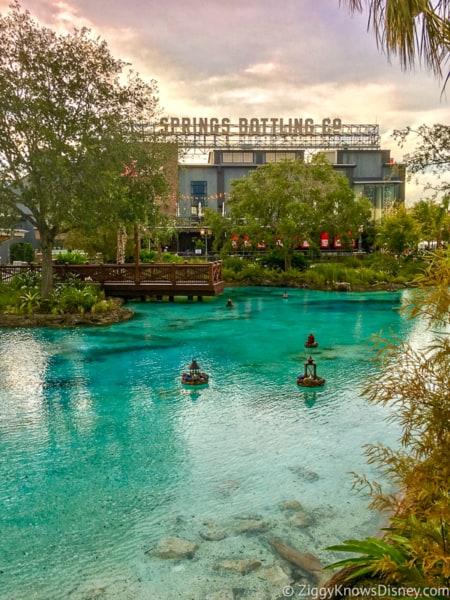 view of the water in Disney Springs
