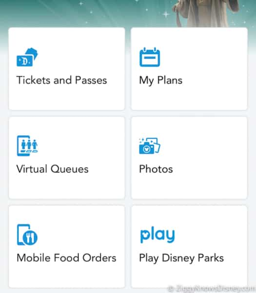 Multiple Virtual Queues in My Disney Experience