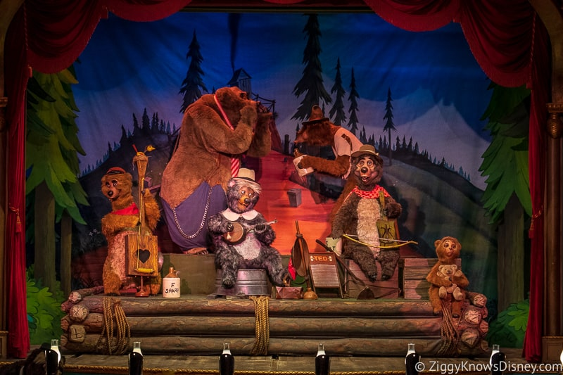 Country Bear jamboree bears