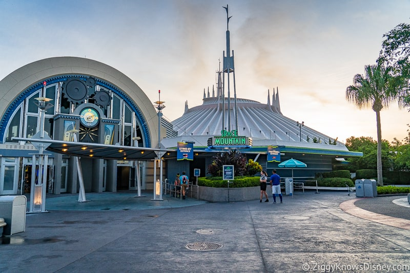 Riding Space Mountain with Disney Virtual Queue