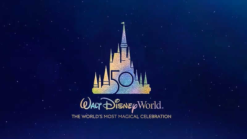 Disney World 50th Anniversary logo
