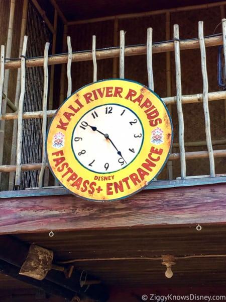 Kali River Rapids FastPass+ queue