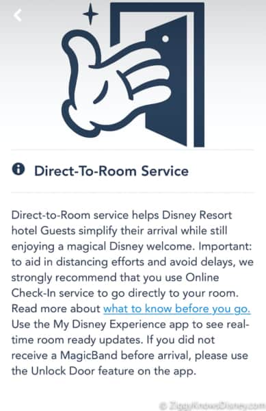 Direct-to-Room Service My Disney Experience