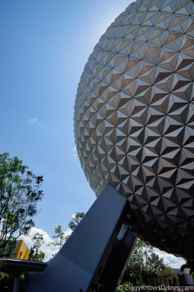 Epcot Spaceship Earth Disney World Reopening