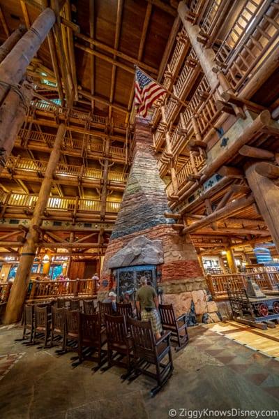 Wilderness Lodge lobby Disney World