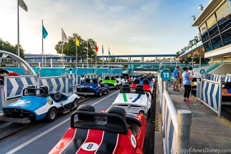 Tomorrowland Speedway Disney World park reservations