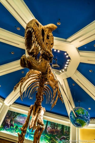 T-Rex statue Dinosaur ride Animal Kingdom