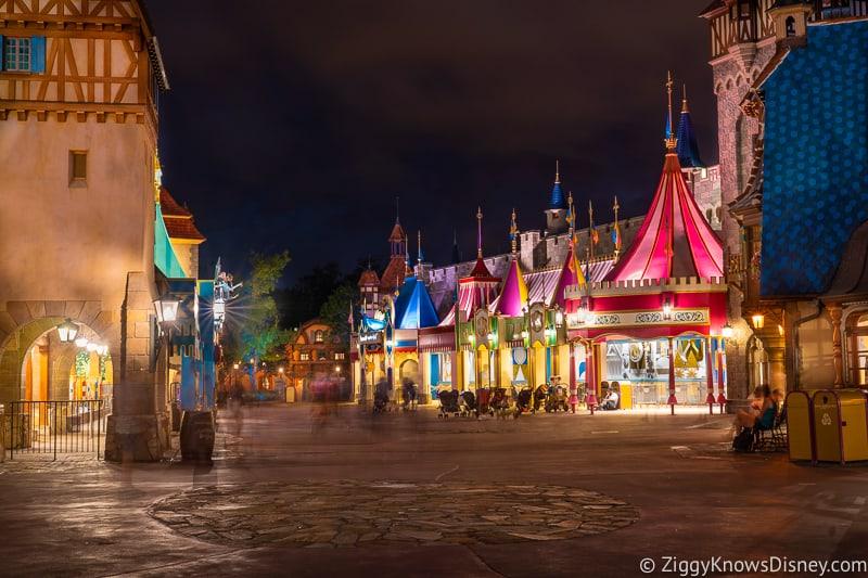 Magic Kingdom at night Disney World Safe