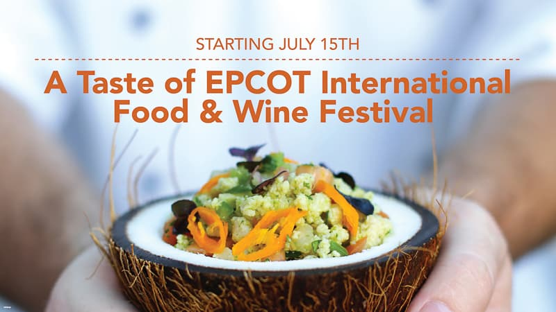 A Taste of EPCOT Food & Wine Festival