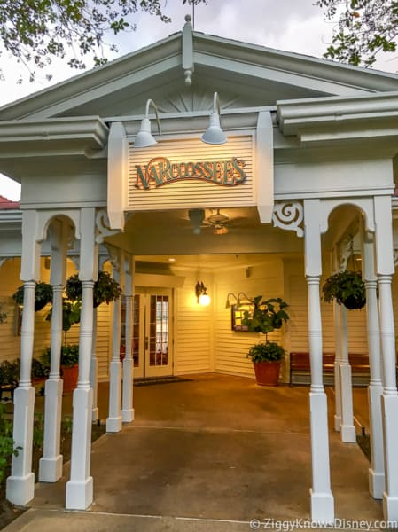 walking up to narcoossee's at Grand Floridian
