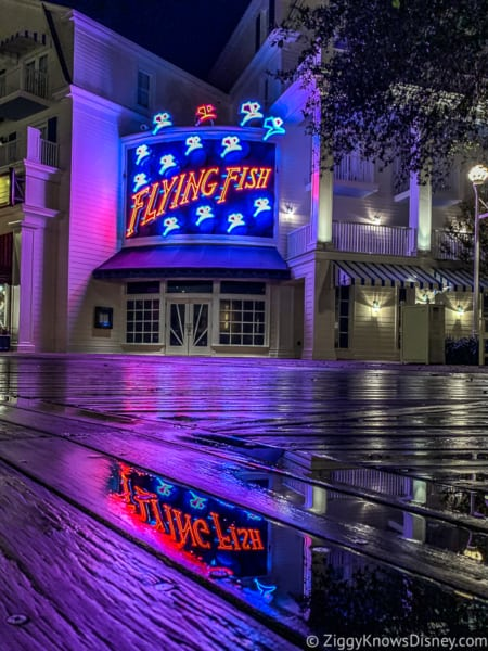 Disney World restaurants Flying Fish Boardwalk