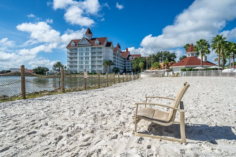 beach at Grand Floridian Resort