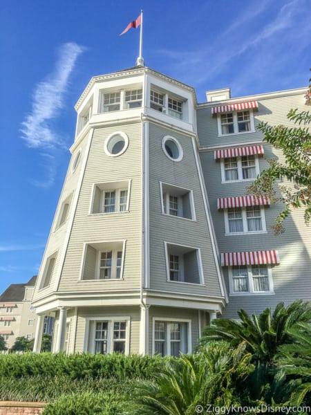 Lighthouse tower Disney's Yacht Club Resort