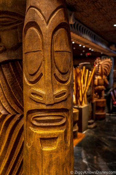 Inside Polynesian Resort Disney World